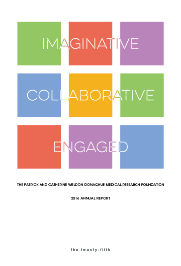 Donaghue Foundation Annual Report 2016