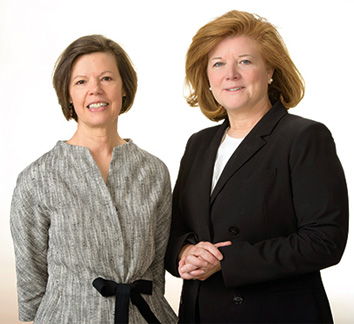 Lynne Garner and Amy Lynch