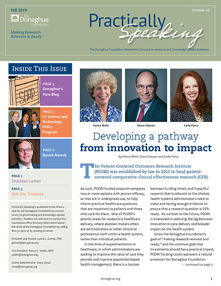 Practically Speaking Fall 2019